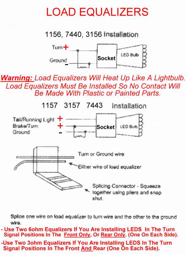 04 08 how to install resistors if you have led turn signals install sciox Choice Image