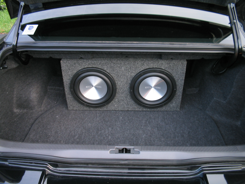 Vwvortexcom Fs 2 Eclipse 12 Aluminum Subs W Box Old Car Audio Taken Out Of My Bought From Local Dealer